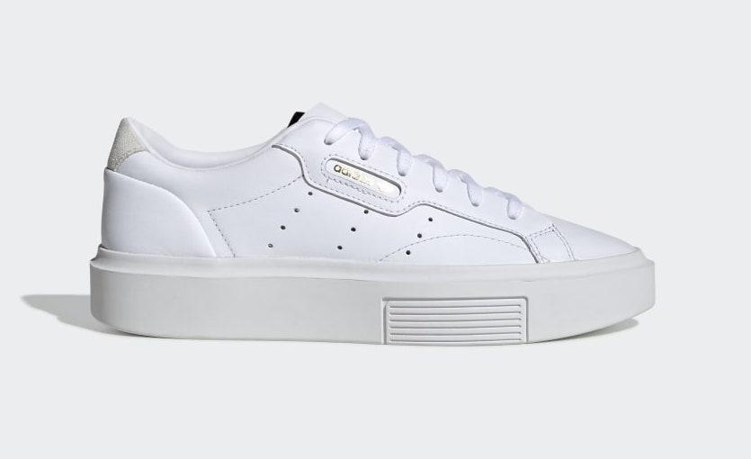 Vita sneakers från adidas